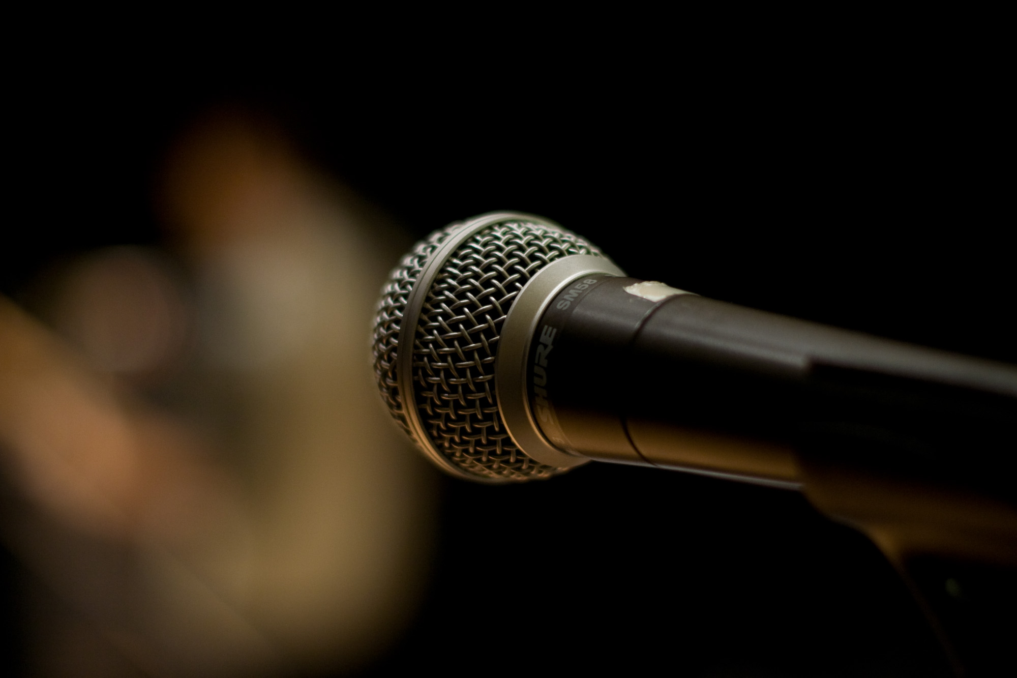Microphone (Not unlike the one used by our DJs) by Alex Indigo via Flickr (CC BY SA, 2.0 License)