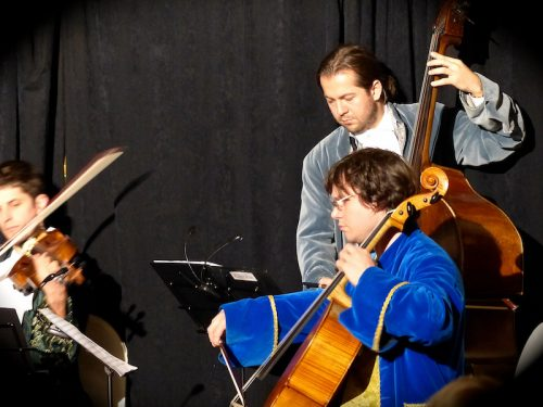 Playing Mozart