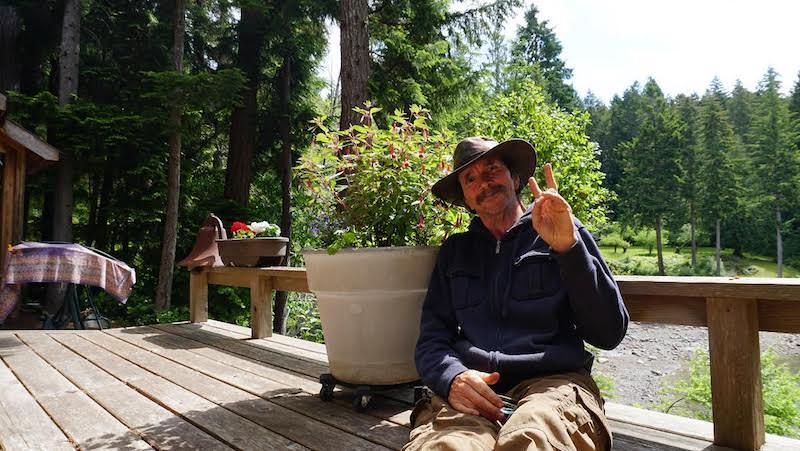 Victor Van Buskirk in the Muses Garden