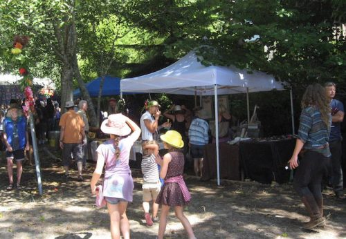 At Cortes Island''s 50 Summers of Love - Roy L Hales photo