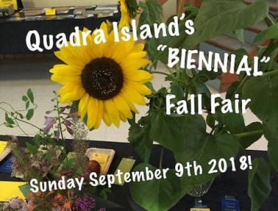 Quadra Island fall Fair