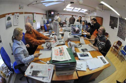 Gazeta Lubuska newsroom