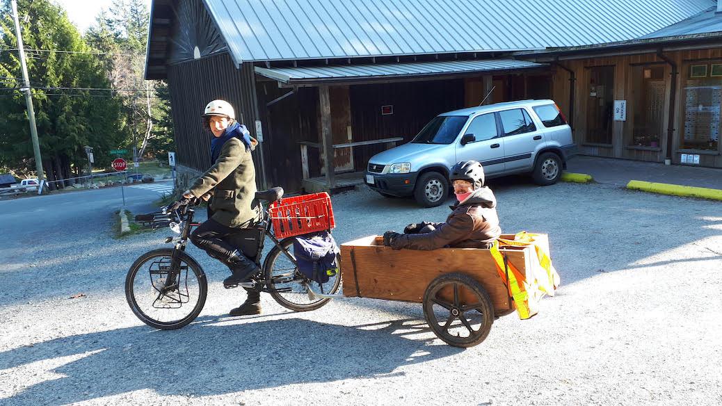 Update on Cortes Island e-Bikes