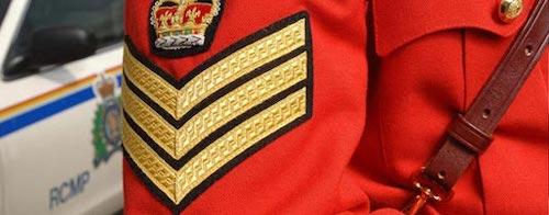 POlice sergeants stripes