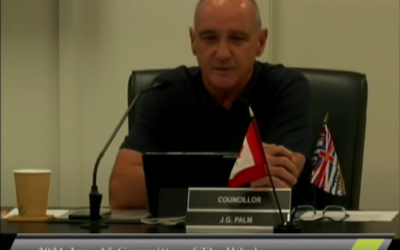 Powell River city councilor called out for transphobic speech